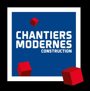 Logo chantiers modernes construction